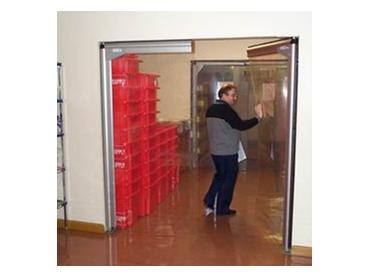 Customisable PVC swing doors