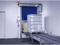 High speed roll doors for conveyors