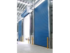 High speed security doors for the recycling industry from DMF International