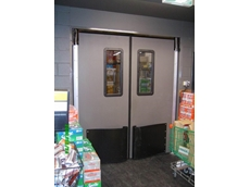 High traffic doors from DMF International