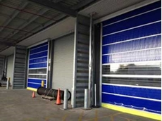 DMF offers safety devices for their fast action doors