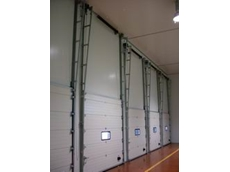 Insulated sectional doors from DMF International