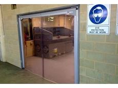 PVC Swingflex traffic doors from DMF International