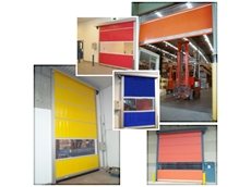 Rapid Auto Roll High Speed Doors from DMF International
