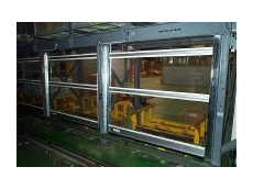 Rapid auto-roll doors for access control