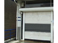 Rapid roll doors available from DMF International