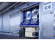 Rapid roll doors with anti crash