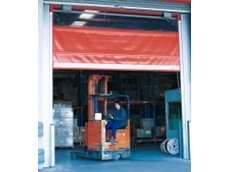 Series 4000 rapid roll doors are able to withstand accidental impacts