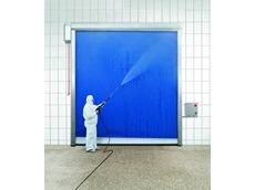 The hygienic high speed roller door from DMF International