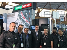 The DMG MORI SEIKI Australia team at Austech 2012