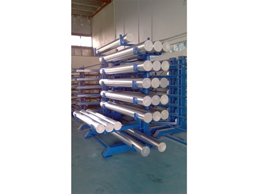 Cleverrack offers the safest and most economical solution for storage of materials with lengths of up to 6m and loading capacity of up to 28t per system.