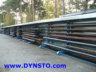 Cleverrack offers the safest and most economical solution for storage of long bars