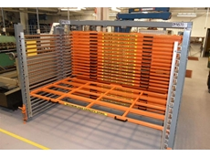 Dynsto's Roll-Rack warehouse storage system at University of Queensland, Brisbane