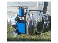 Dairy Maid portable milking machine