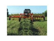 Daken Hay Rakes for Rough and Uneven Terrain