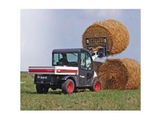Toolcats for Easy Bale Handling