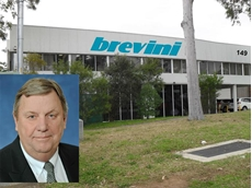New head office and works of Brevini Australia. Inset: Chris Bayliss, Managing Director