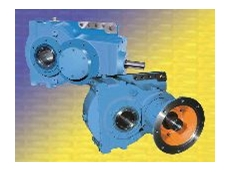 Compact shaft mounted gear reducers