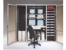 The moduLAN 4001 IT room system.
