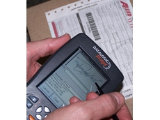Scan and sign-on-glass PDA's for Allied Express courier and distribution fleet.