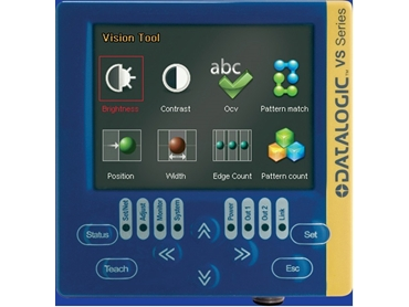 VSC and VSM compact handheld external configurator for Data VS1 and DataVS2 vision sensors