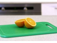 These hygienic chopping boards are available in a variety of shapes, sizes and colours