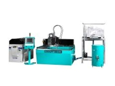 Techjet waterjet cutting machine.