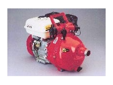 Davey Firefighter 5 Series Twin Impeller pump with a Honda 5.5 hp petrol engine.