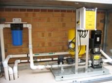 Davey rainwater harvesting systems