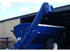 Increase efficiency by unloading grain on the go