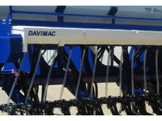 Heavy Duty TD Seed Drills for Demanding Seeding Application from Davimac