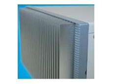 Heat sink front panel