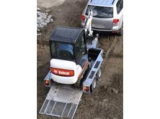 Bobcat 319 excavator