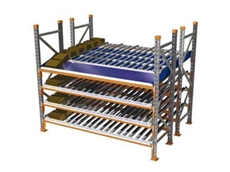 Colby Carton Live Storage Systems for Split Case Picking from Dematic