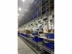 Dematic's zone picking system auto-launches customer order totes directly to numerous pick zones