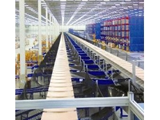 High throughput sortation systems are used by retailers to distribute goods to stores