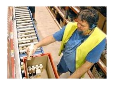 Dematic provide automated voice picking technology for the Provet distribution centre in Brisbane