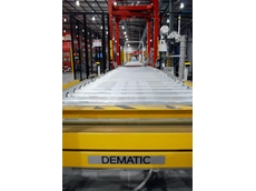 Dematic's pallet conveyor at the CCA Eastern Creek facility