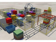Dematic's new integrated robotic layer picking system builds pallets smarter and safer