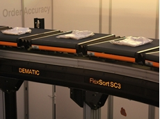 Dematic unveils next generation crossbelt sorter
