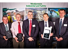 Dematic won the Wesfarmers Industrial & Safety award
