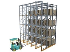 Drive In Pallet Racking is a Low Cost, Versatile Solution for High Density Pallet Storage from Dematic
