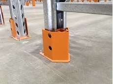 New Colby rear upright protector defends warehouse racks