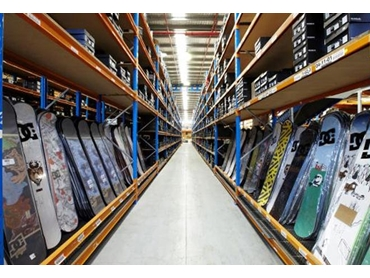 Selective Pallet racking with lower level access