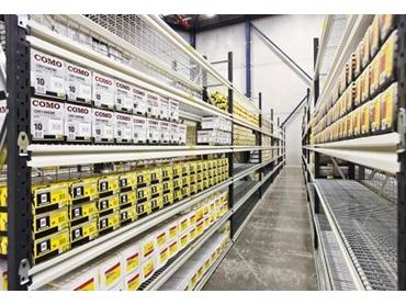 Longspan Shelving for warehouses