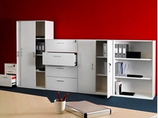 Range of office products available from Dexion