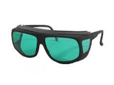 LG-006 fitover laser glasses can be used with or without prescription glasses