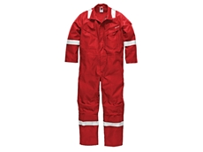 Dickies' flame retardant coveralls