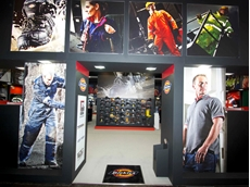 Dickies' safety workwear and PPE showcased at the exhibition