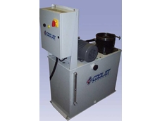 The new Cooljet Medium-Pressure Unit features a fixed coolant flow of 30l/min at 20bar